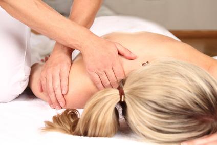 Professionelle Massage